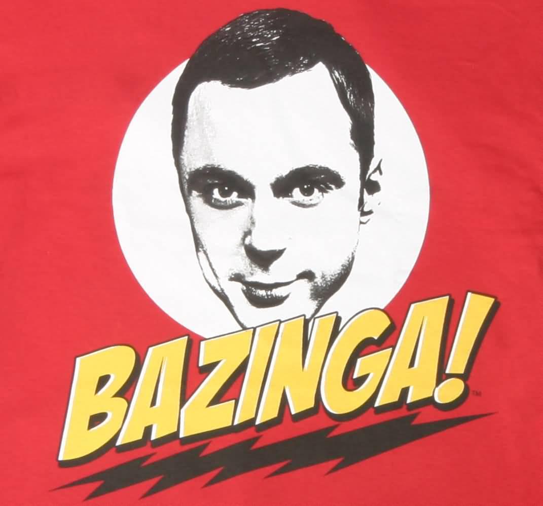 Bazinga Meme Funny Image Photo Joke 13