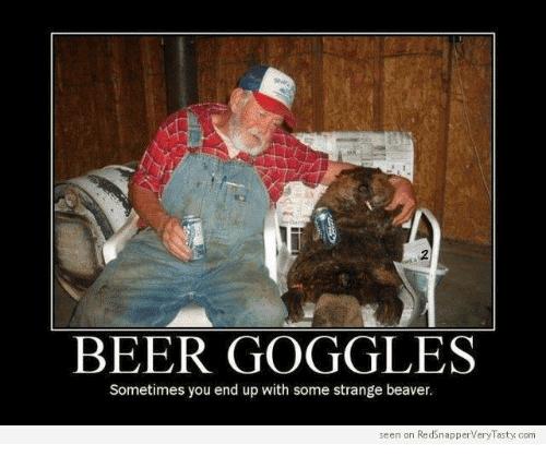 Beer Goggles Meme Funny Image Photo Joke 02