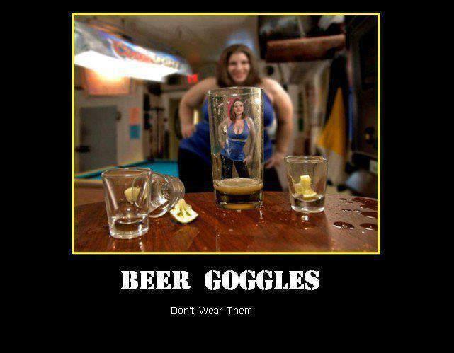 Beer Goggles Meme Funny Image Photo Joke 09
