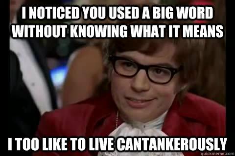 Big Words Meme Funny Image Photo Joke 12