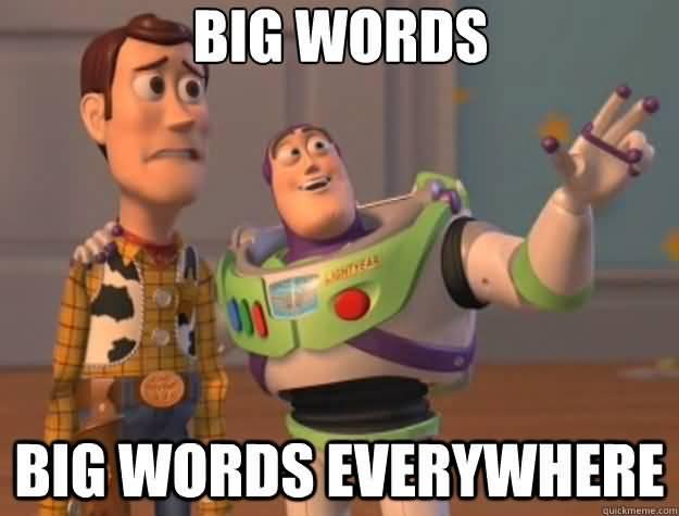 Big Words Meme Funny Image Photo Joke 14