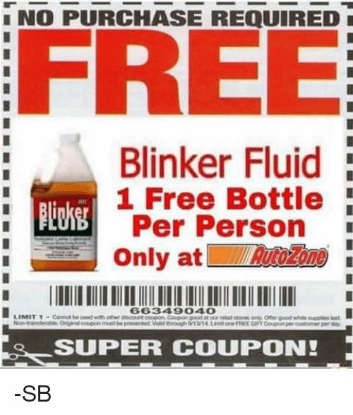Blinker Fluid Meme Funny Image Photo Joke 13