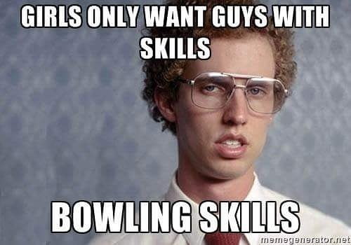 Bowling Meme Funny Image Photo Joke 04