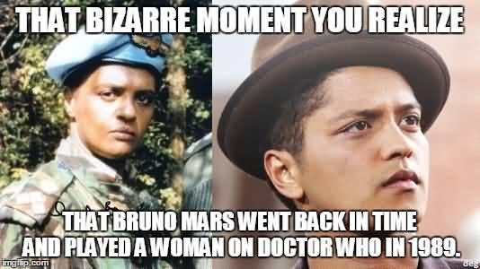 Bruno Mars Meme Funny Image Photo Joke 13