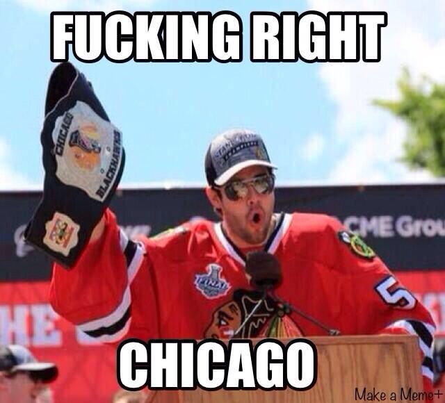 Chicago Blackhawks Memes Funny Image Photo Joke 02
