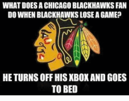 Chicago Blackhawks Memes Funny Image Photo Joke 10