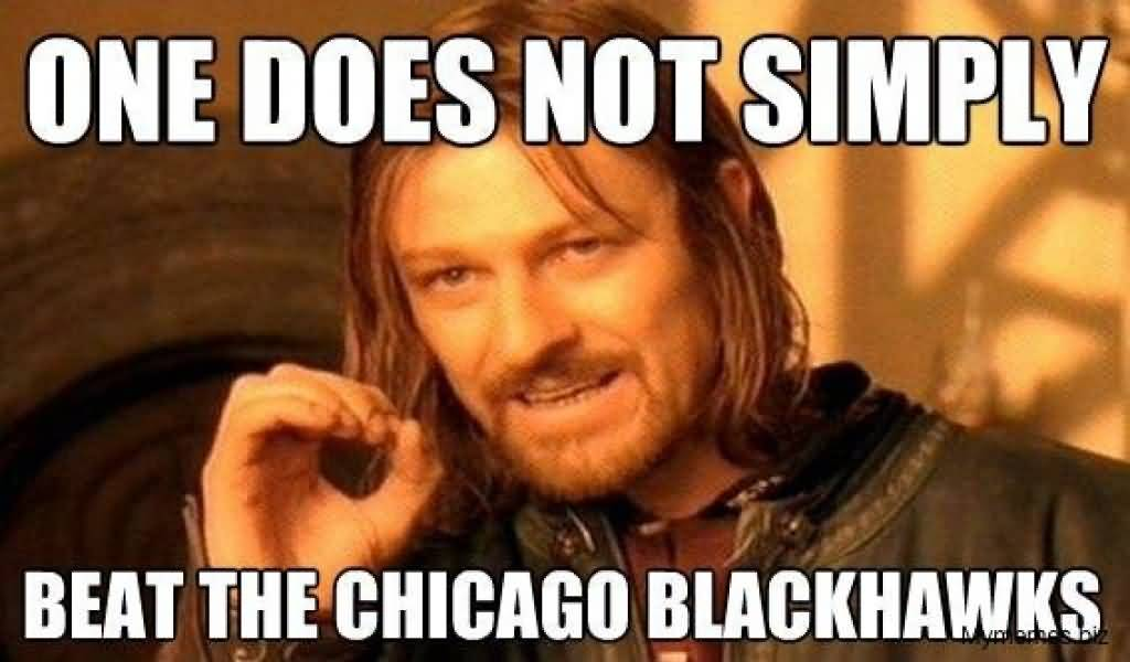 Chicago Blackhawks Memes Funny Image Photo Joke 12