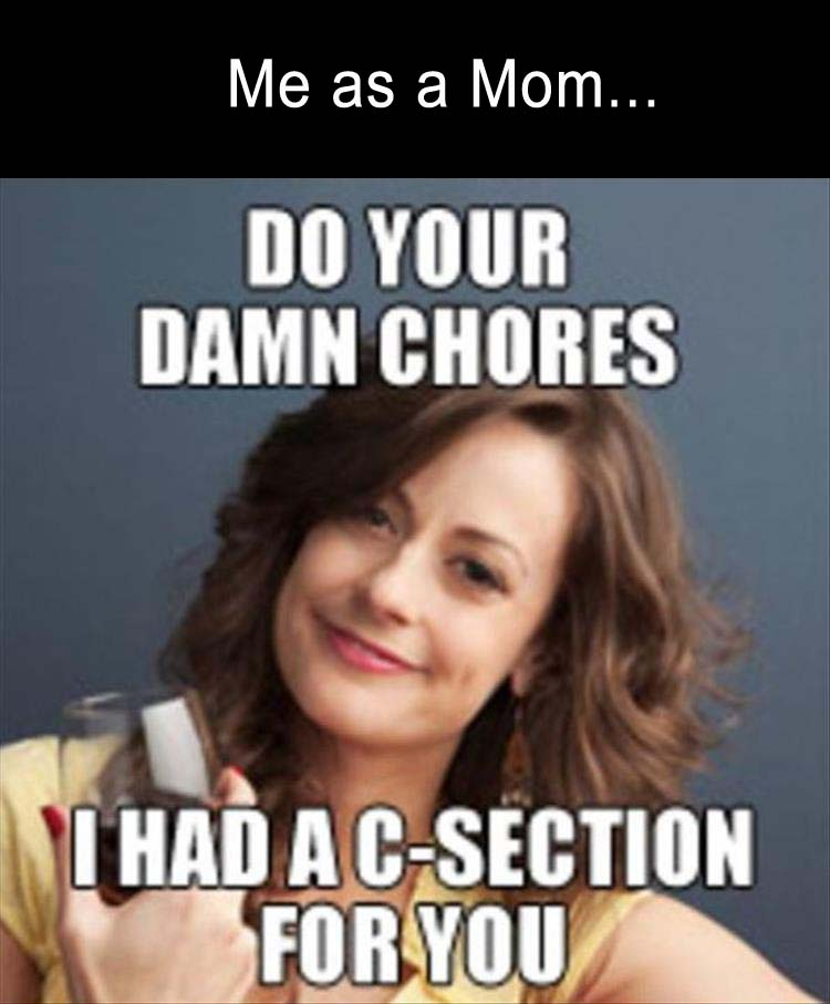 Chores Meme Funny Image Photo Joke 07