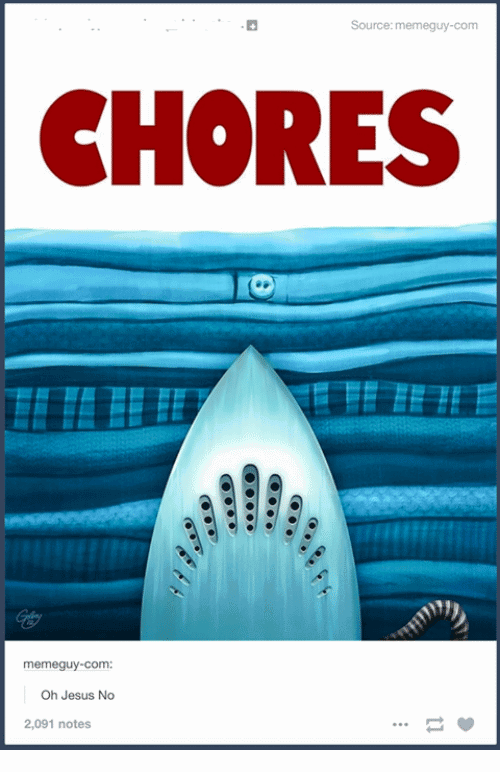 Chores Meme Funny Image Photo Joke 08