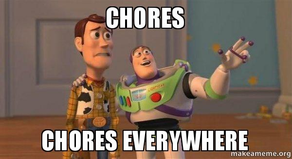 Chores Meme Funny Image Photo Joke 13