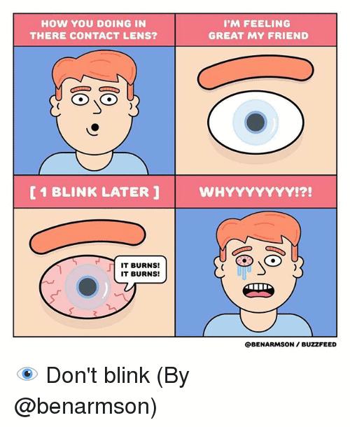 Contact Lenses Meme Funny Image Photo Joke 07