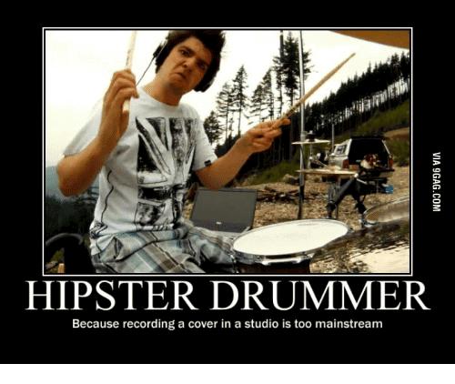 Drummer Meme Funny Image Joke 02