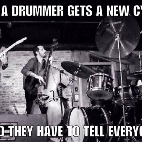 Drummer Meme Funny Image Joke 09
