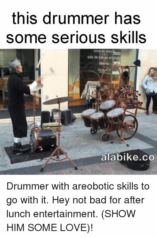 Drummer Meme Funny Image Joke 10