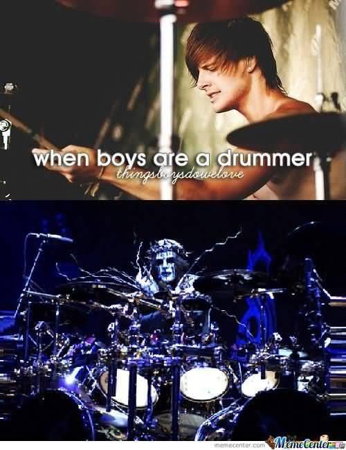 Drummer Meme Funny Image Joke 13