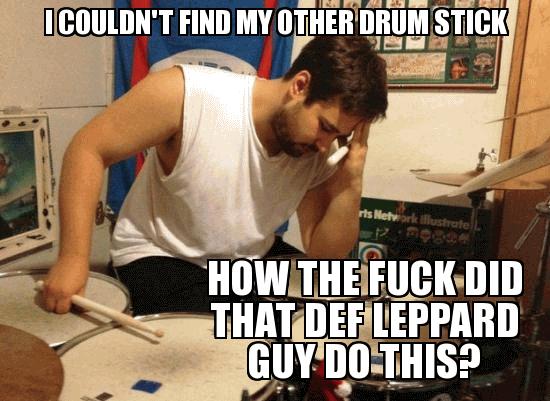 Drummer Meme Funny Image Joke 14