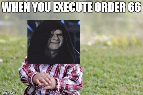 Evil Toddler Meme Funny Image Photo Joke 08