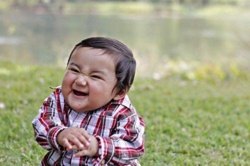 Evil Toddler Meme Funny Image Photo Joke 10