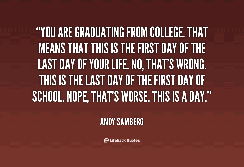 First Day Of College Quotes Meme Image 13