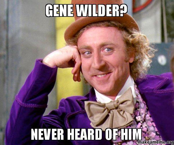 Funniest Gene Wilder Meme Image