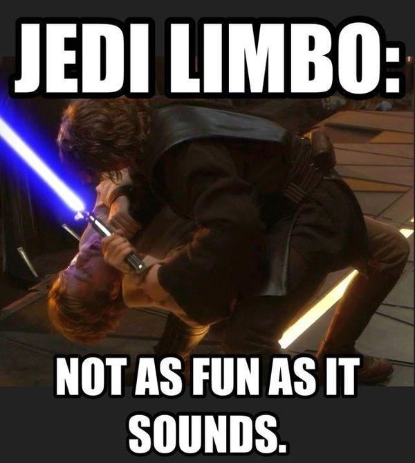 Funniest star wars jedi limbo funny memes joke