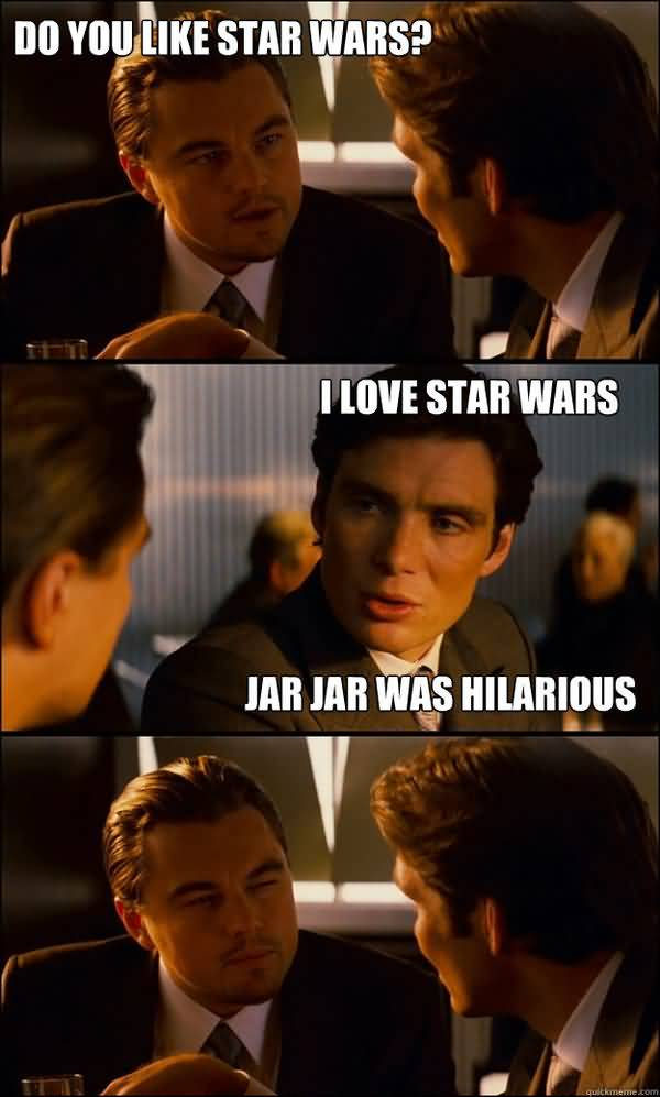Funniest star wars love meme photo