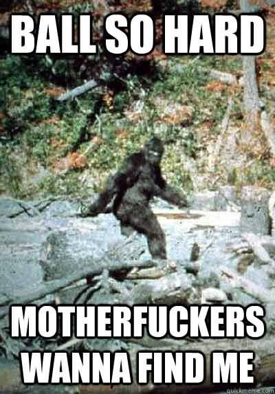 Funny Bigfoot Memes Funny Image Photo Joke 16 | QuotesBae