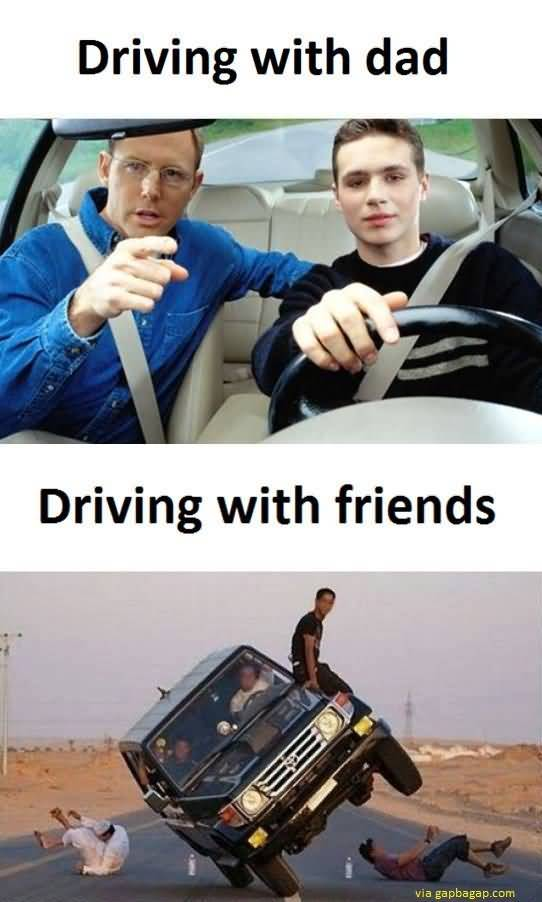 Funny Driving Meme Image Photo Joke 07