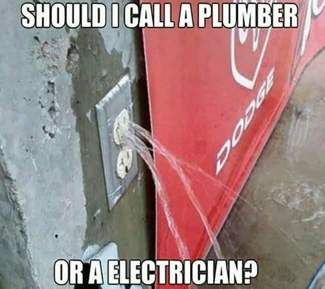 Funny Electrician Meme Funny Image Photo Joke 13