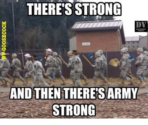Funny amazing army strong meme picture