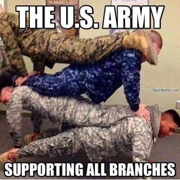 Funny amazing funny military branches meme photo