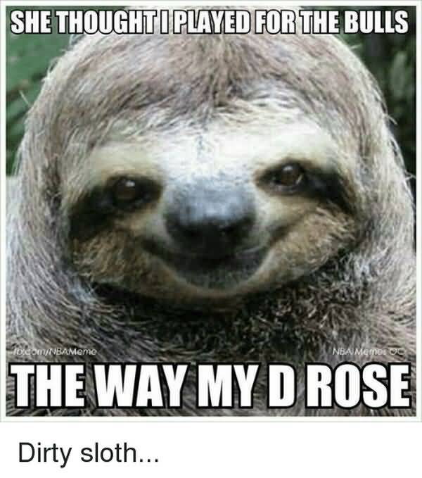 Funny best dirty sloth memes picture