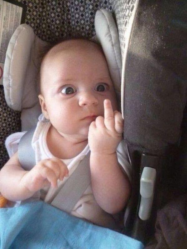 Funny best funny middle finger images meme