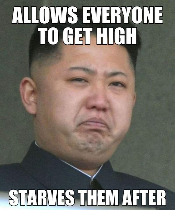 Funny getting high memes joke