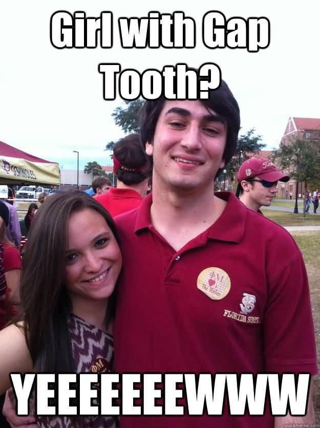 Gap Tooth Meme Funny Image Photo Joke 11