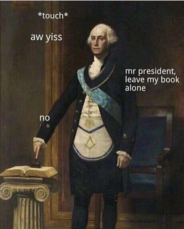 George Washington Memes Funny Image Photo Joke 01