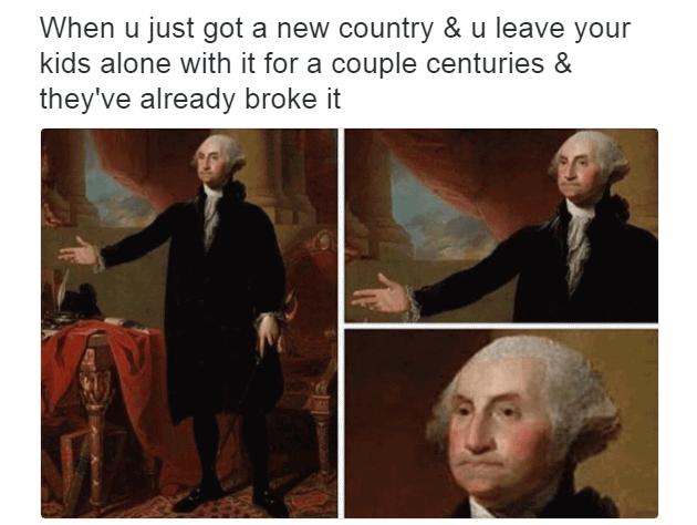 George Washington Memes Funny Image Photo Joke 07