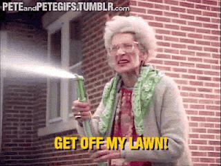 Get Off My Lawn Meme Funny Image Photo Joke 07