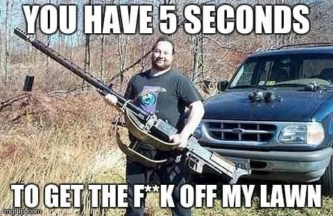 Get Off My Lawn Meme Funny Image Photo Joke 09