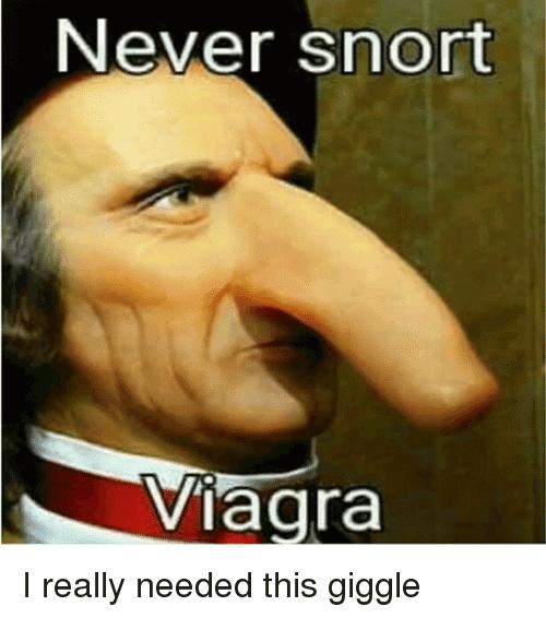 Can you snort viagra