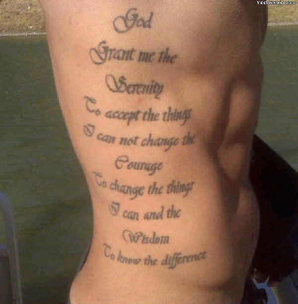 25 God Quote Tattoos Images Pictures & Photos