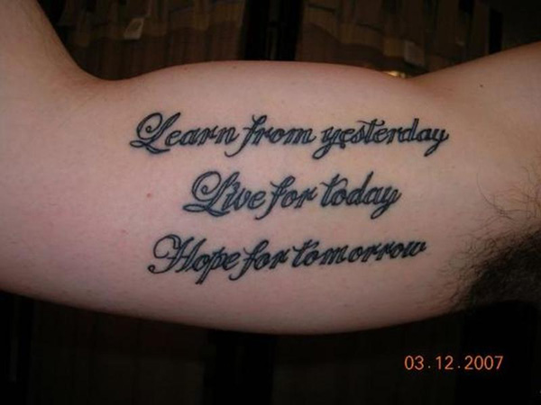 Good Quotes For Tattoos Meme Image 03