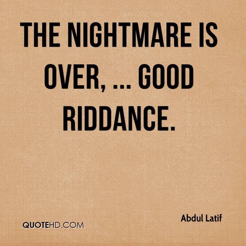 good riddance paroles
