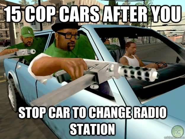Gta San Andreas Meme Funny Image Photo Joke 07