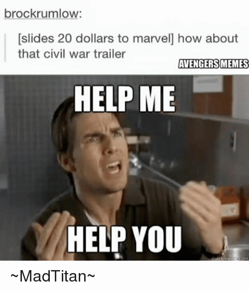 Help Me Help You Meme Funny Image Photo Joke 03