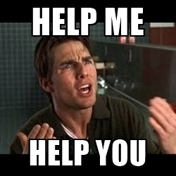 Help Me Help You Meme Funny Image Photo Joke 12