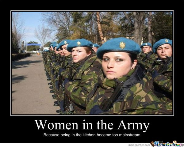 Hilarious best military women memes photo