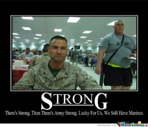 Hilarious common army strong meme picture