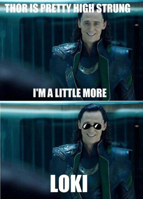 Hilarious common loki meme joke