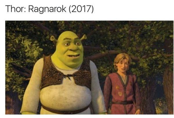 Hilarious common thor ragnarok meme jokes